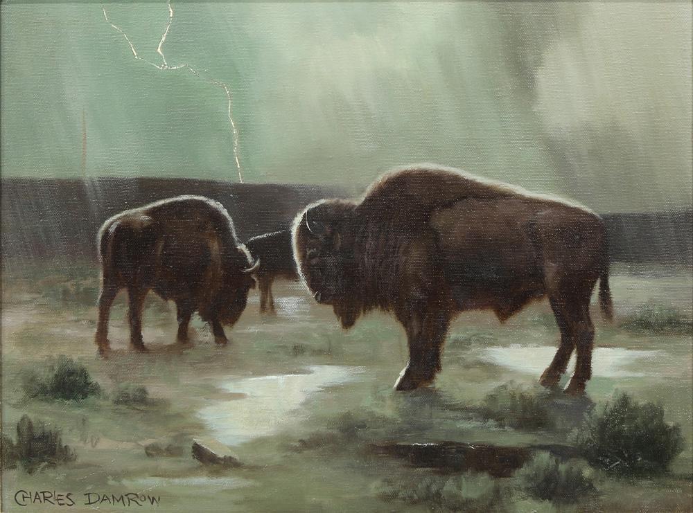Painting, Charles Damrow