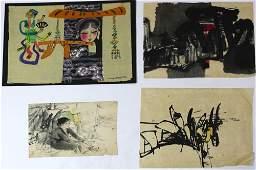 Watercolors, Bui Ngoc Tu and Vietnamese School
