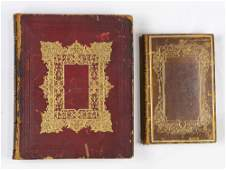 lot of 2 S Andrus and Son Holy Bible 1847