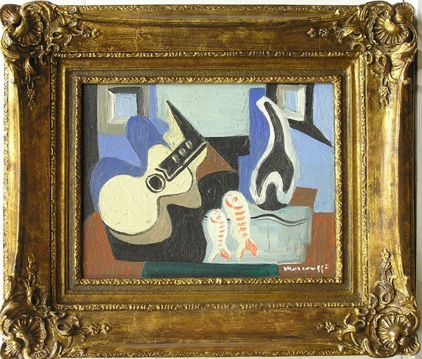 5: Painting, after Marcoussis, Cubist