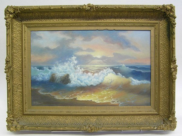 6: Painting, Seascape, American