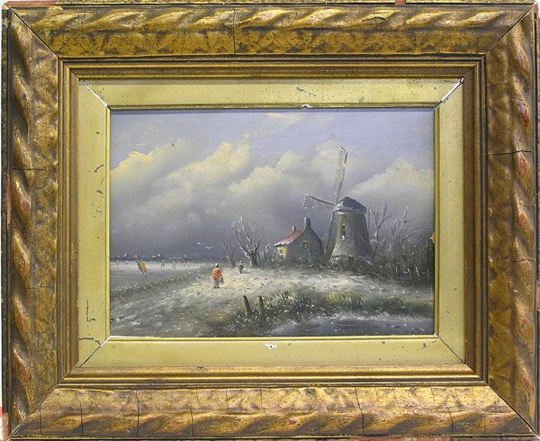10: Painting, Moerman, Dutch, Landscape