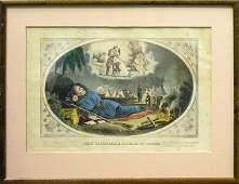 334 Lithographs Currier Ives Civil War