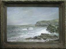 454: Painting after William Trost Richards