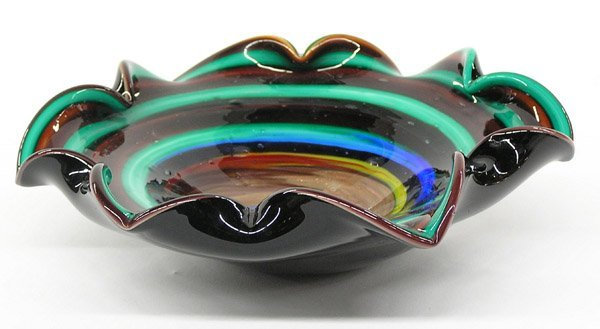 2023: Murano glass low bowls