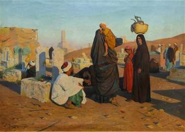Painting, Ludwig Deutsch