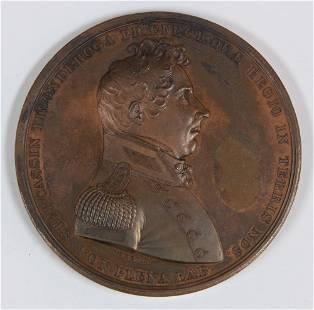 LT Stephen Cassin undated commemorative medal