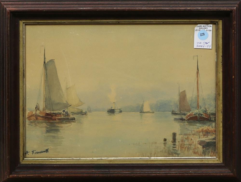 Watercolor, Alfred Villiers Farnsworth