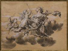 Work on paper, French School (18th century)