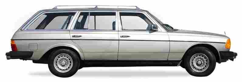1985 Mercedes Benz W123 300TD Turbo Diesel Wagon