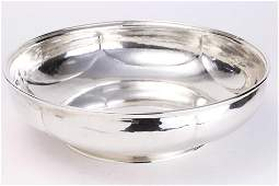 An Arts & Crafts sterling silver bowl