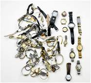 Collection of metal watches