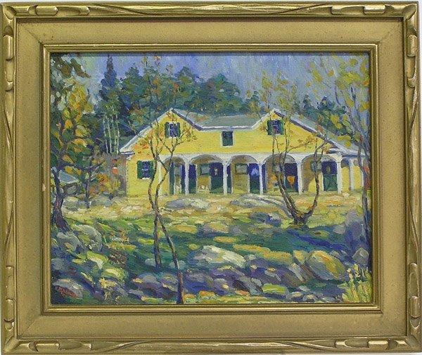 4003: Painting, Madducks, American