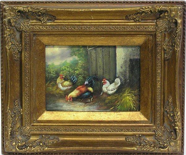 4004: Painting, Animals, Still Life