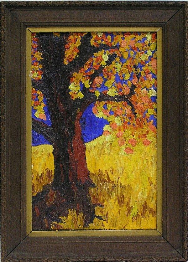 4007: Painting, Landscape, contemporary