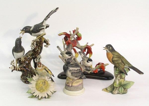4021: ceramic and art pottery bird figurals