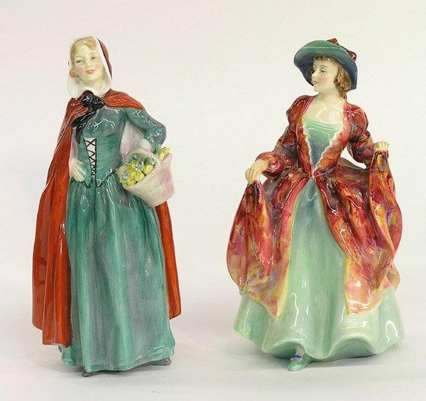 4022: Royal Doulton figures Jean Margaret
