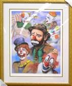 4386 Print Barry LeightonJones clowns