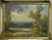 4459 Painting Pond Hans Wagner
