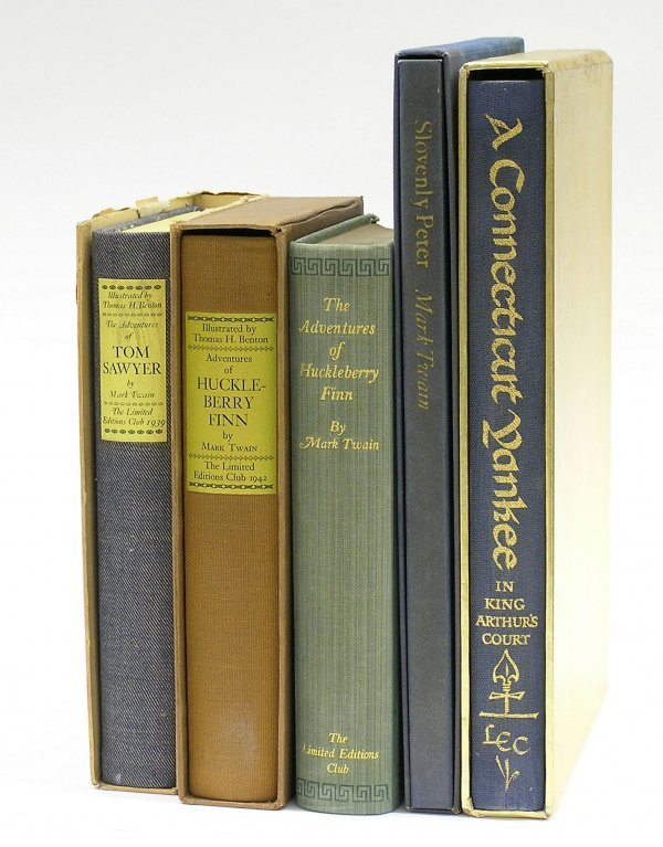6016: Limited Editions Club books Twain