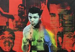 6483: Print, Steve Kaufman, Muhammad Ali