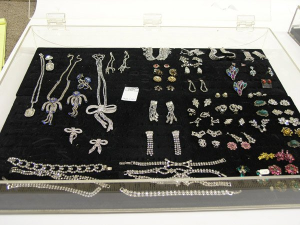 5901: Collection of rhinestone jewelry