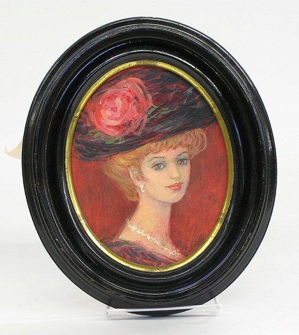 3: Painting Eva Sikorski Portrait Woman