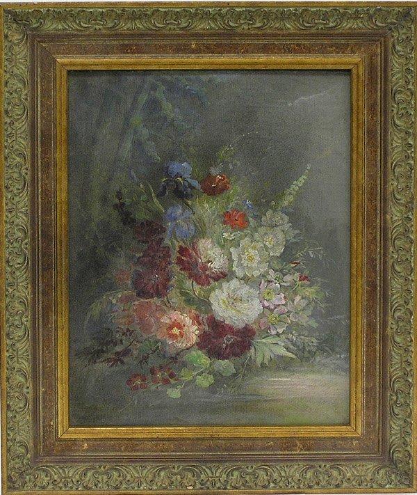4: Oil Painting Floral Still Life Iris