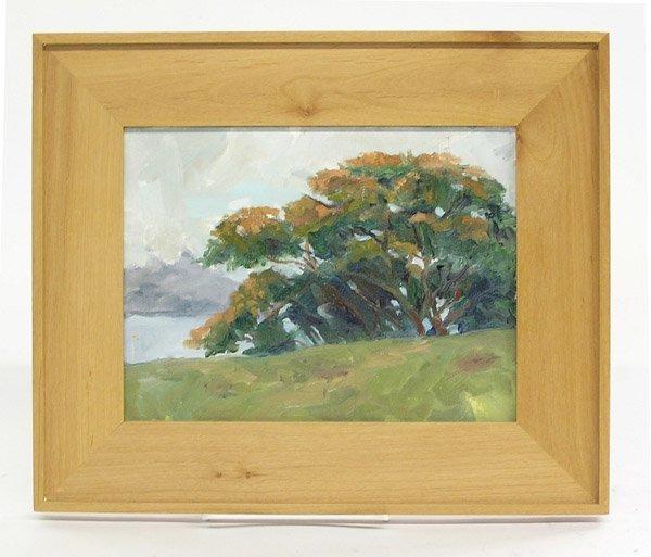 8: Painting Landscape Live Oak Tree
