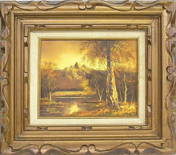 9: Painting Landscape Sunset