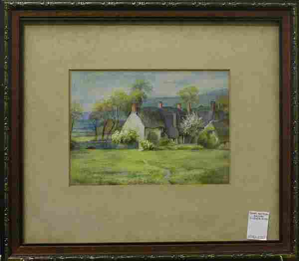 484: Watercolor, Landscape, Rural