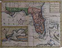 Map of East  West Florida 1772