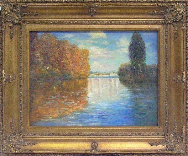 4001: Painting, Landscape, contemporary