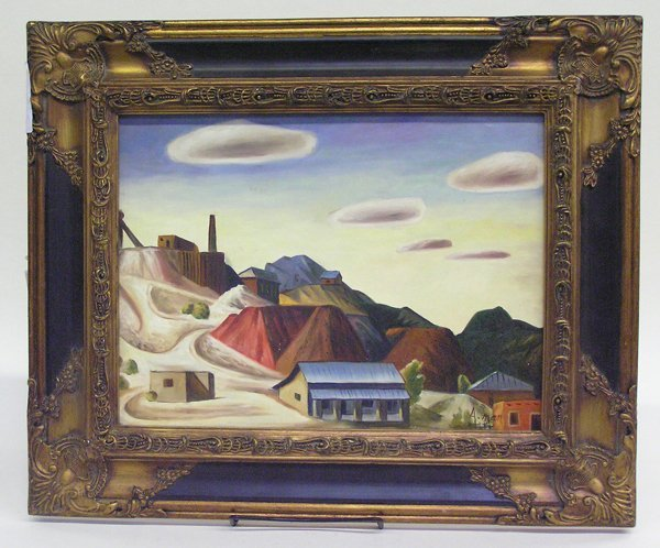 4002: Painting, Landscape, Contemporary