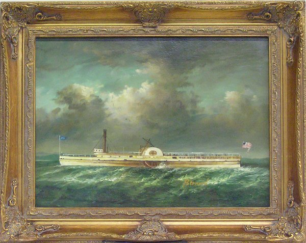 4005: Painting, Nautical, Contemporary