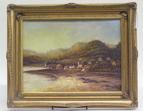 4006: Painting, Landscape, contemporary