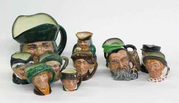 4010: Royal Doulton character mugs Toby