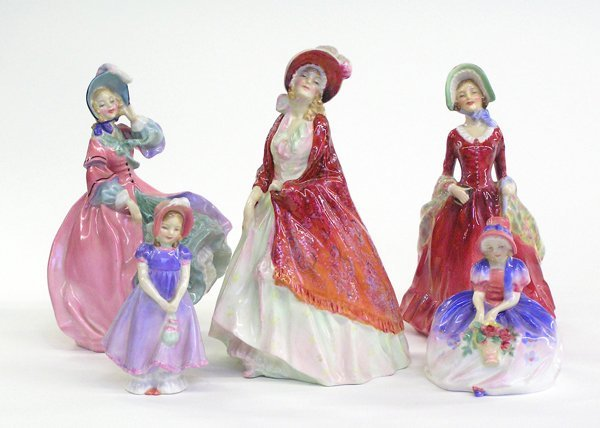4015: Royal Doulton figurines