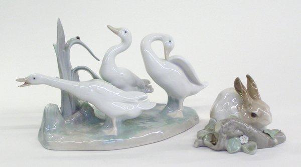 4023: Lladro porcelain animal figures