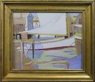 4351 Painting Sailboats American