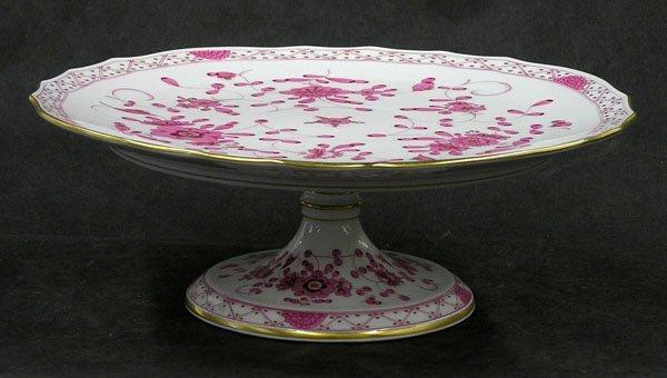 6005: German porcelain cake stand Meissen