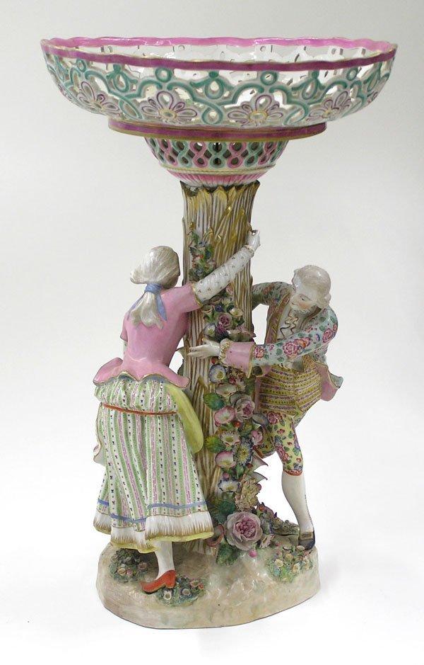 6007: Meissen style figural centerpiece