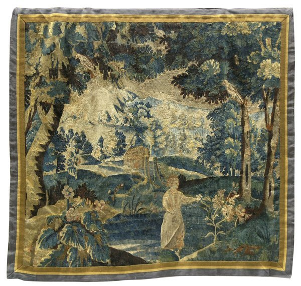 6019: Aubusson Tapestry 17th/18th century