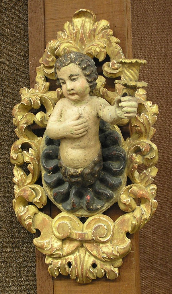 6083: Spanish Colonial candle sconces