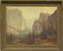 6340 Painting California School Yosemite