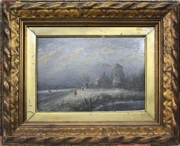 8: Painting, Moerman, Dutch, Landscape