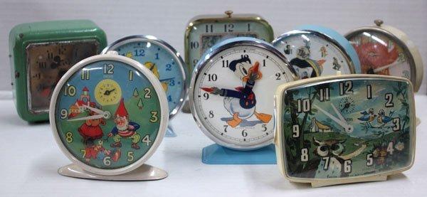 574: Vintage Disney animated character clock