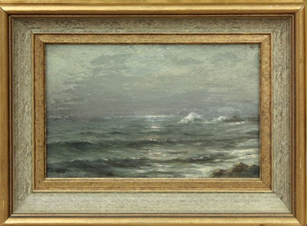 2000: painting oil Seascape 20th Century