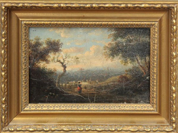 2003: painting oil 19th C European