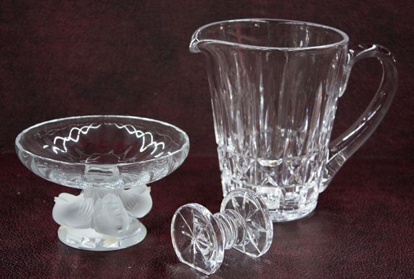 2023: Waterford crystal knife rest pitcher